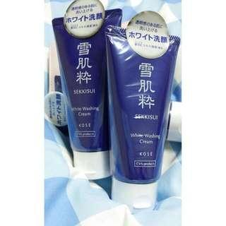 #全新 日本7-11限定獨賣❤ KOSE高絲 雪肌粹洗面乳 80ML