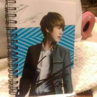 SJ 圭賢 簽名筆記本