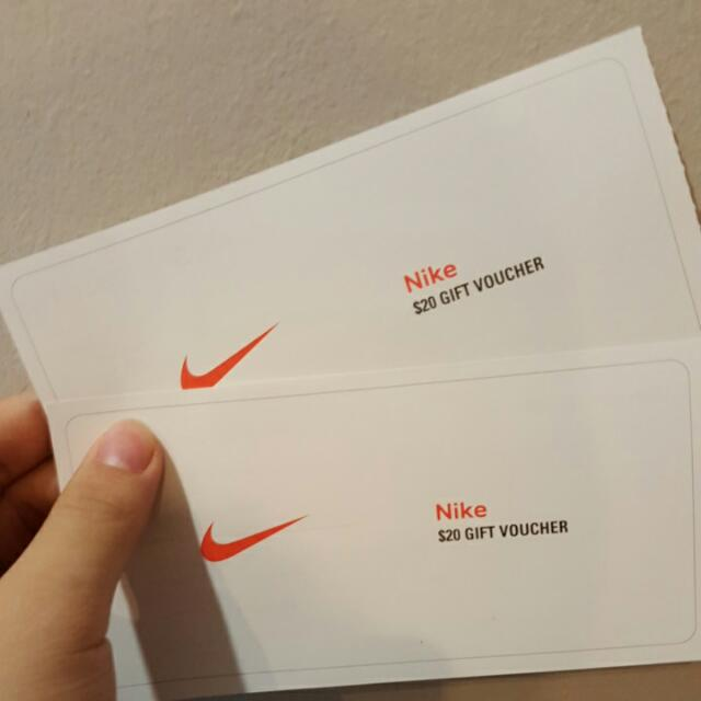 40 nike giftcard gift voucher entertainment on carousell photo photo photo photo colourmoves