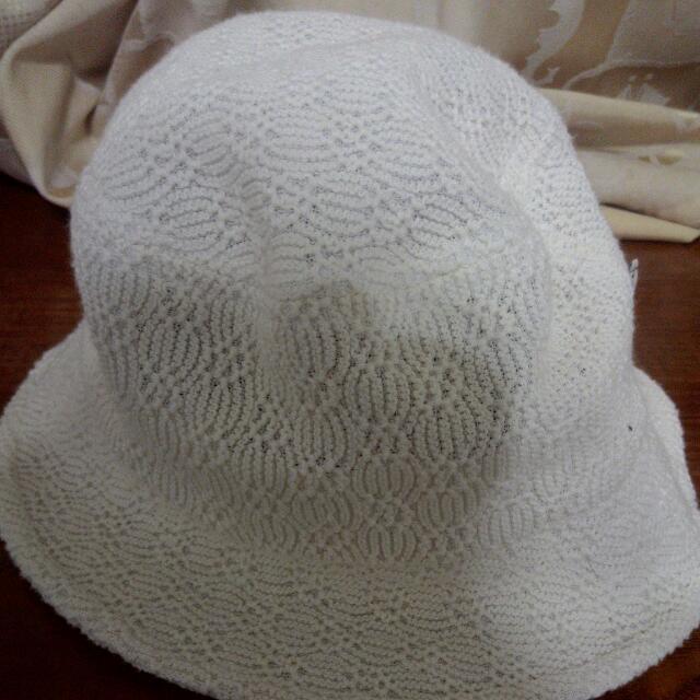 米白色漁夫帽