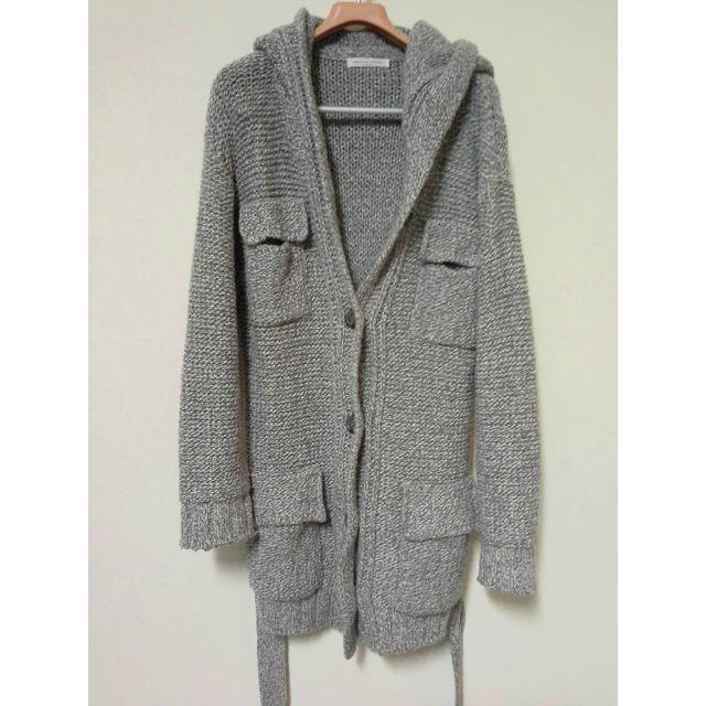 韓製針織長外套(保留中)