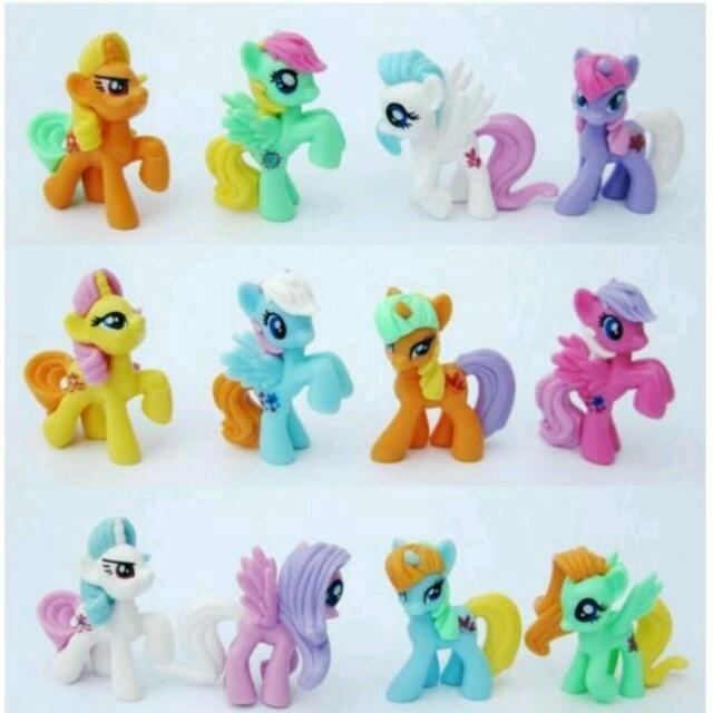 ❤第二代馬卡龍色彩虹小馬