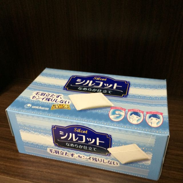 絲花化妝棉 80片裝 日本製 Silcat