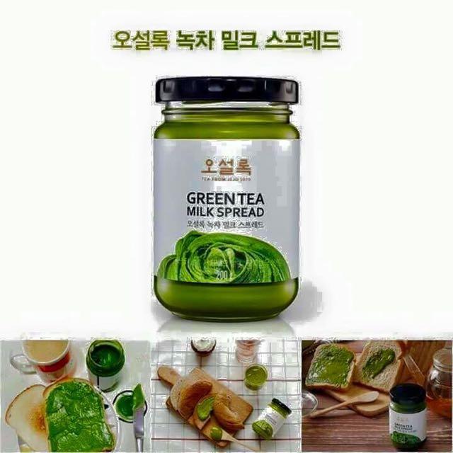 韓國 OSULLOC 超濃抺茶牛奶醬 200g