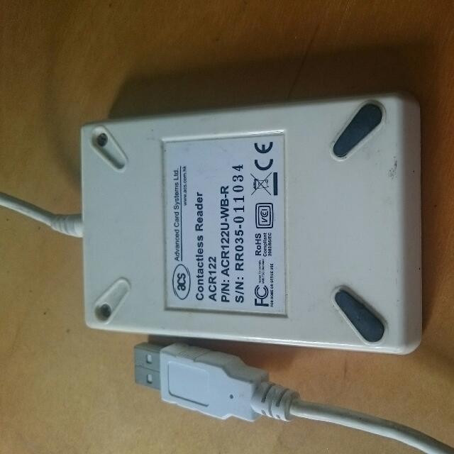 ACS NFC ACR122 Contactless Smart Card Reader, Electronics on