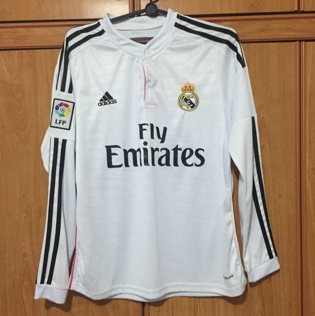 3bef3f7a2 Authentic Real Madrid Home Kit 14 15