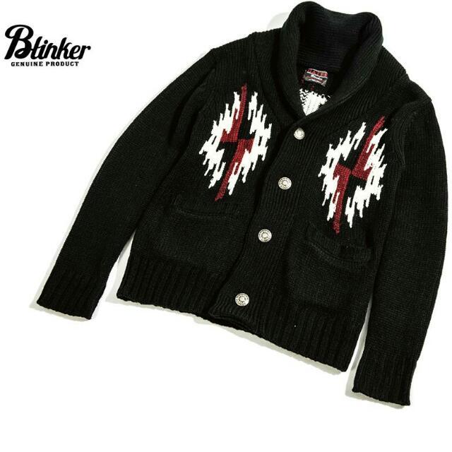 Blinker 民族 針織 外套