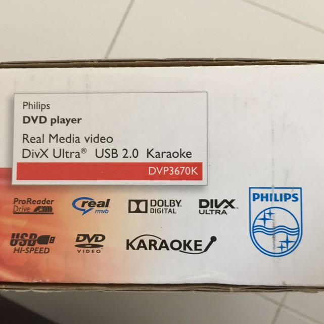 Dvd Player Philips