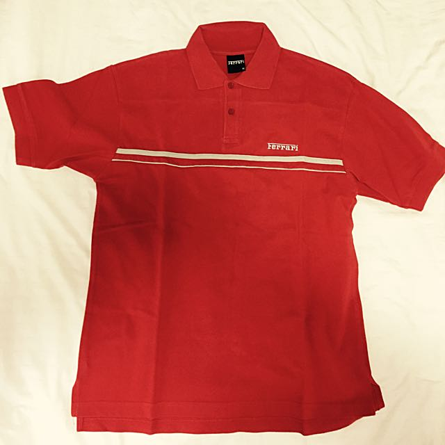 99e69f94 Ferrari Polo T Shirt, Men's Fashion on Carousell