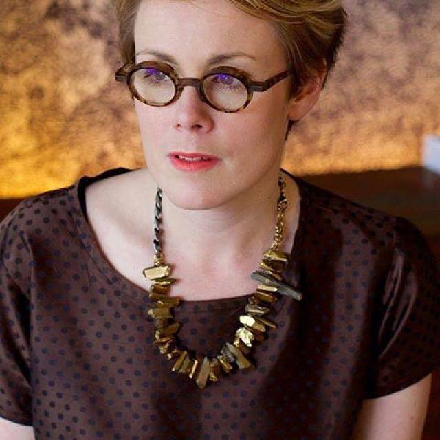 Haati Chai Sian gold quartz necklace
