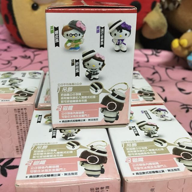 Hello Kitty 3D立體造型公仔(附珠鍊)