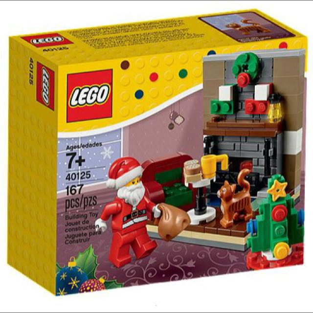 Lego 40125 聖誕老公公組