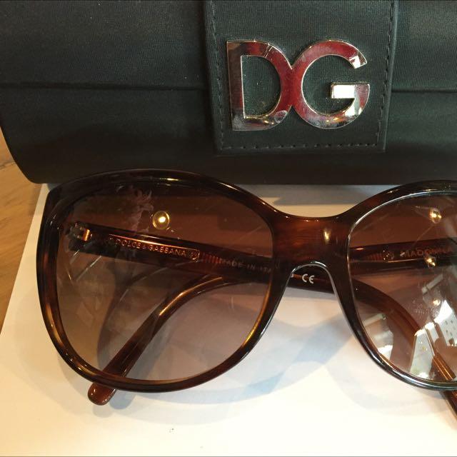 Madonna D&G Tortoiseshell Sunglasses