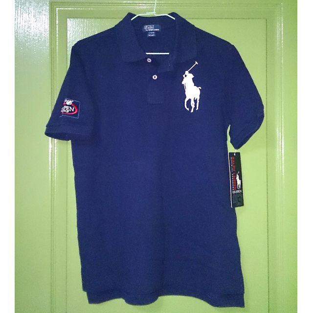 292ff5d2cae Ralph Lauren US Open Big Pony Polo (French Navy) Sz Boys  Large ...