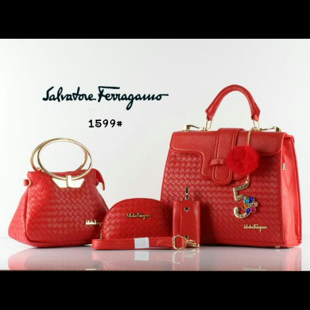 SALVATORE FERRAGAMO 1599# 3IN1