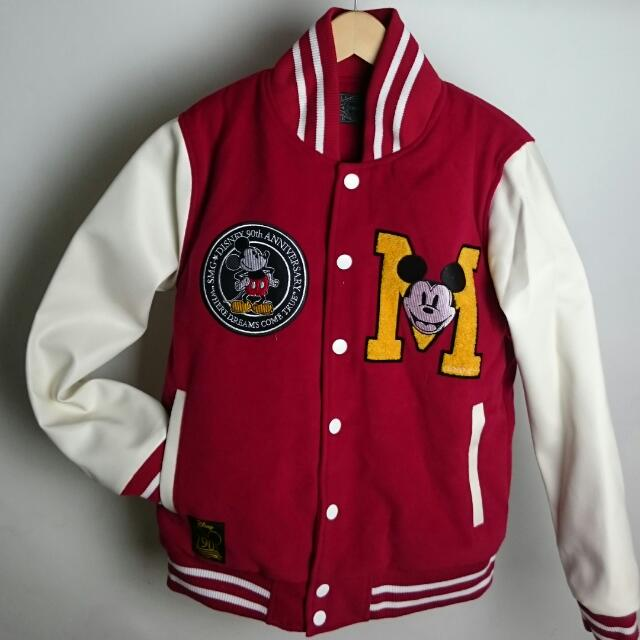 SMGx迪士尼 聯名棒球外套