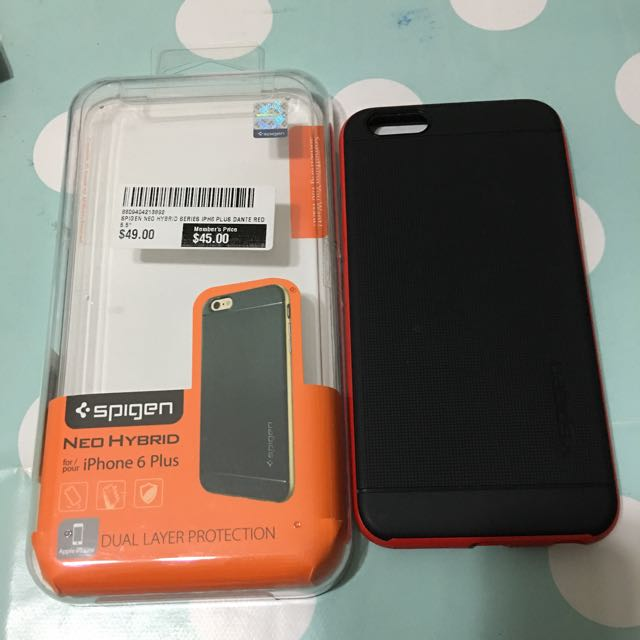 new arrivals 5584e 9ffeb Spigen Neo Hybrid Case - iPhone 6 / 6s Plus
