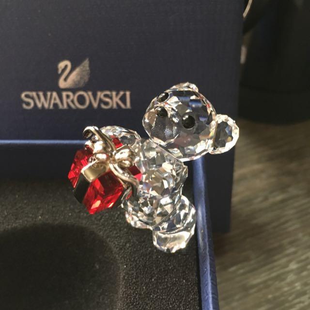 Swarovski 水晶 禮物熊