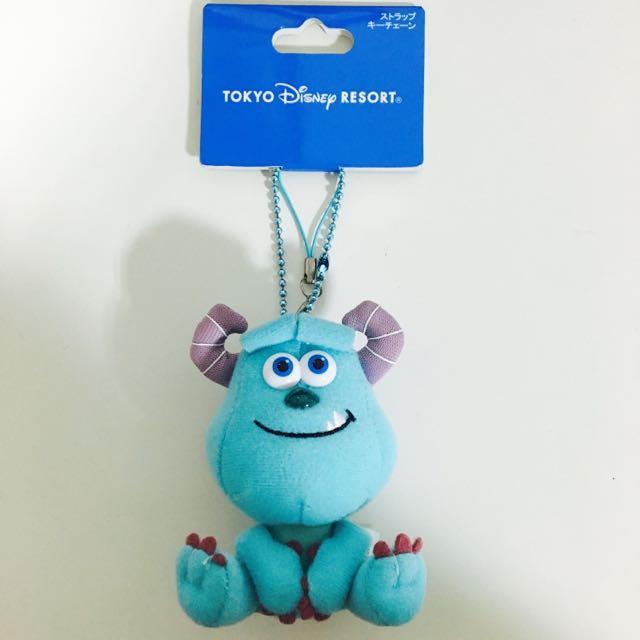 (全新)TOKYO Disney毛怪吊飾(含運)