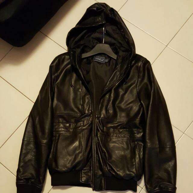 294aba803 Topman Leather Jacket