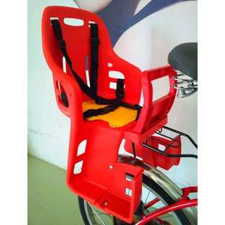 Bicycles, Bike Baby Rear Seat For Install On Carrier (READY STOCK)