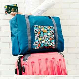 小清新花蕊系列可折疊加大行李包