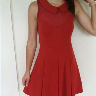 Quirky Circus Dress Size 12 (Stretchy Fits An 8)