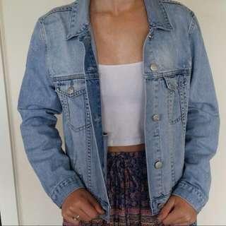 Sports Girl Denim Jacket. Brand New Never Worn size 10