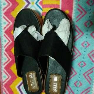 厚底涼拖鞋