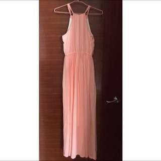 BNWT Long Chiffon Maxi Dress