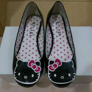 專櫃kitty平底鞋