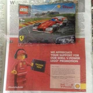 Lego Ferrari Shell Malaysia 2015 Toy