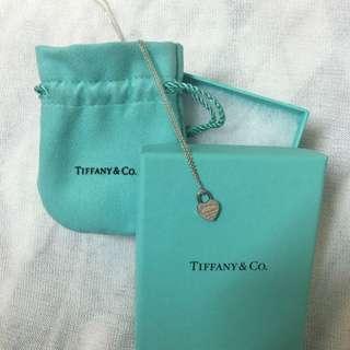 Tiffany 心型鎖頭項鍊