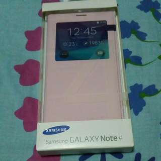 Authentic Samsung Galaxy Note 4 S View Cover