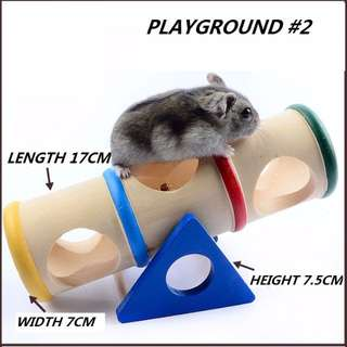 HAMSTER HOUSE ACCESSORIES: PLAYGROUND #2