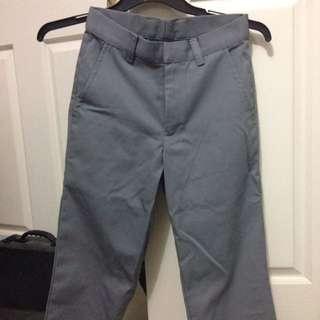 American Apparel Cuffed Twill Pants
