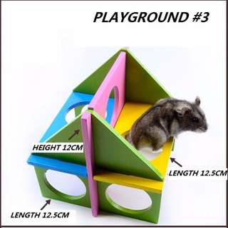 HAMSTER HOUSE ACCESSORIES: PLAYGROUND #3