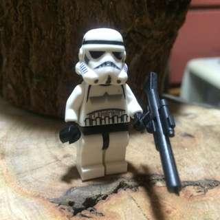 全新 星際大戰 白兵 公仔 積木樂高 收藏