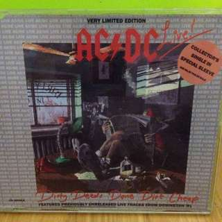 ACDC Limited Edition Single