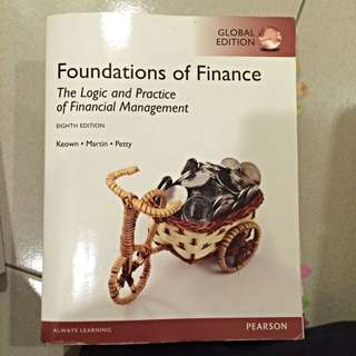 二手書 財管 Foundations Of Finance