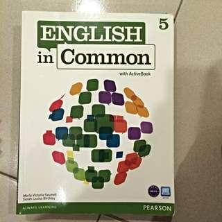 二手書 English In Common