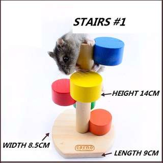 HAMSTER HOUSE ACCESSORIES: STAIRS #1
