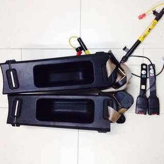 Door Pocket (back) And Fullset Seat Belt