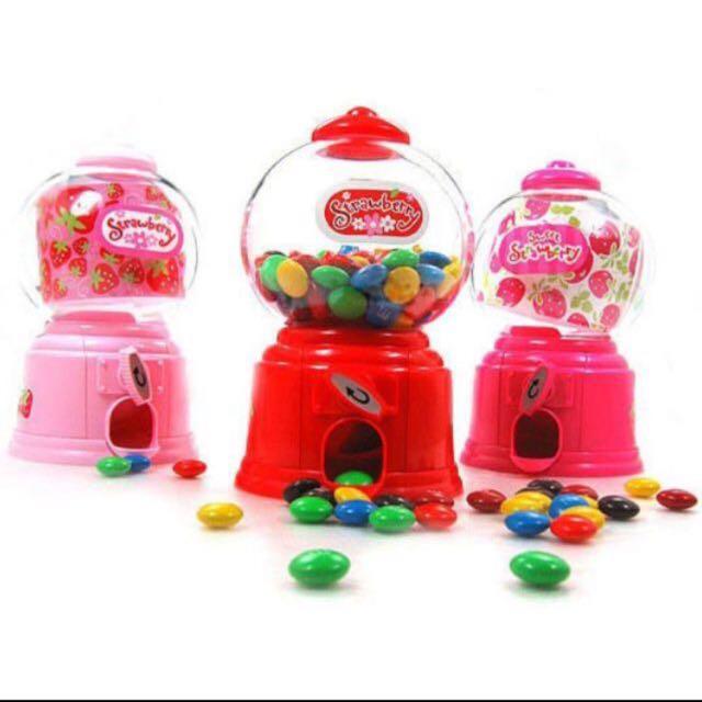 韓國流行迷你糖果扭蛋機