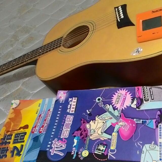 木質吉他和弦書籍 整組便宜出清