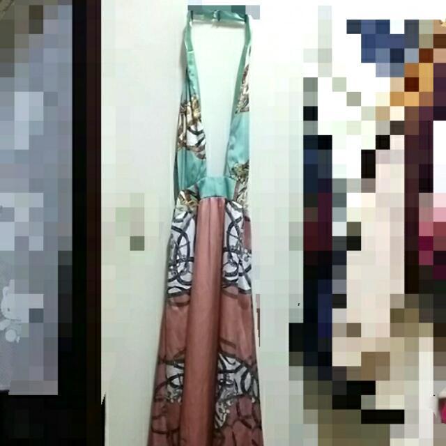 長禮服 洋裝(及踝)(賣場東西接可換物)降價