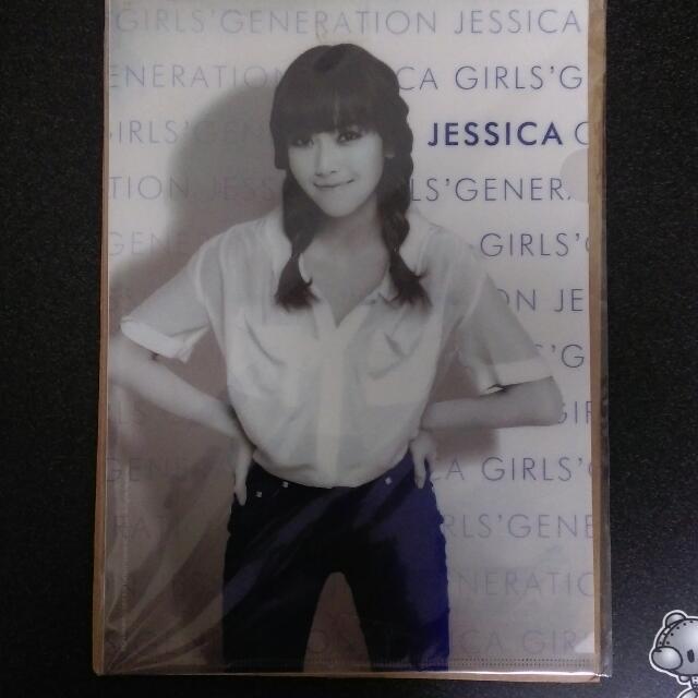 (已售出)少女時代 官方 資料夾 Jessica 允兒 everything