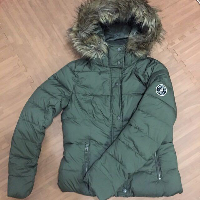 ✨全新 AF 軍綠色頂級羽絨夾克外套