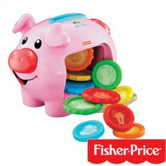 徵 Fisher Price 費雪小豬撲滿