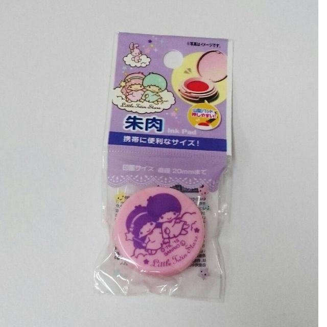 日本 Sanrio 三麗鷗 KiKi & LaLa 印泥